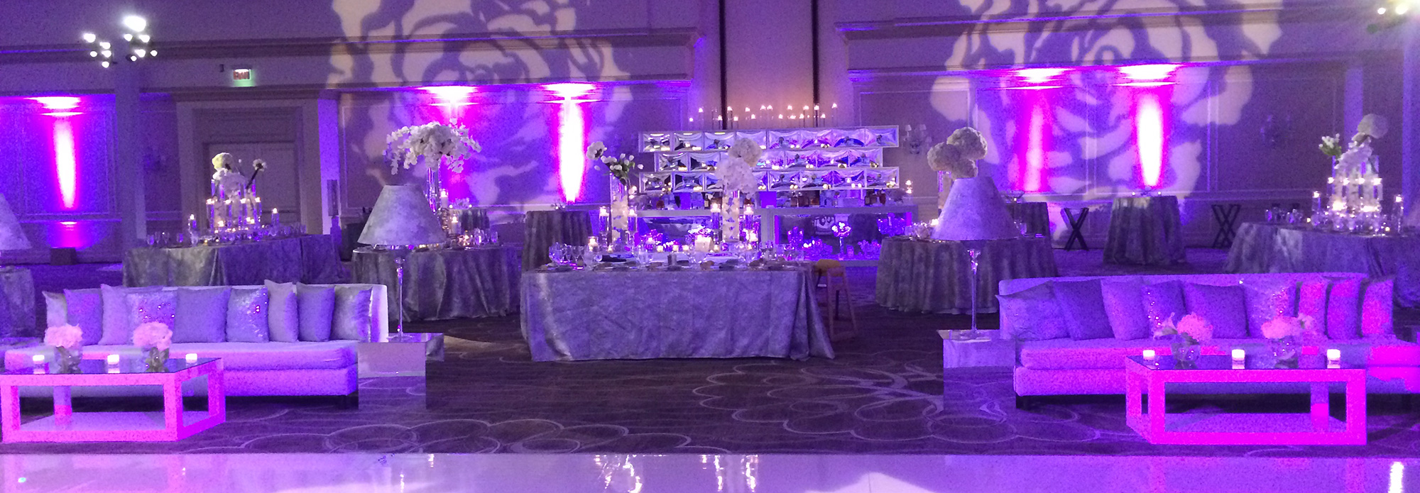 Lounge Style Wedding Reception